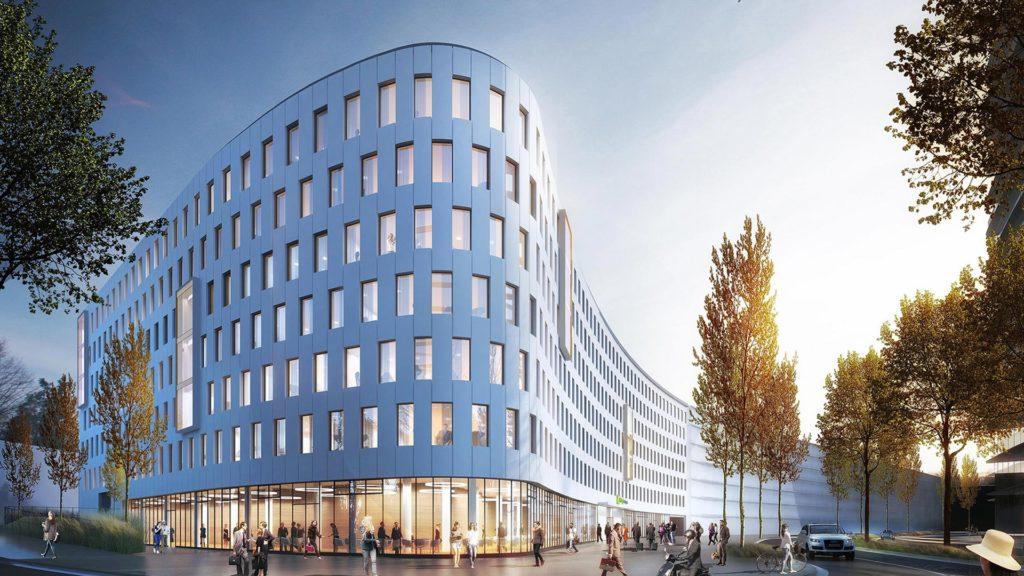 Hotelprojekt Düsseldorf Moskauer Straße